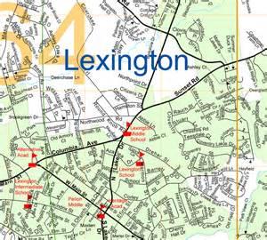 Lexington South Carolina Map