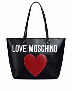 Love Moschino Beuteltasche : love moschino large fabric bag in black lyst ~ A.2002-acura-tl-radio.info Haus und Dekorationen