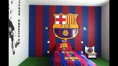 decoration chambre ado chambre du barça lionel messi stickers