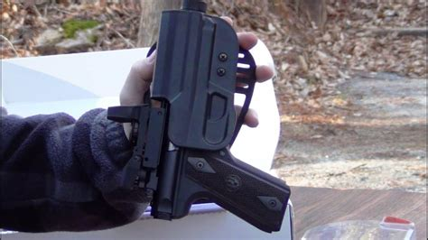 paddle holster   ruger  lite youtube