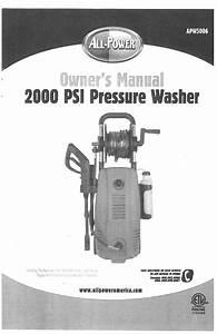 All Power Apw5006 2000