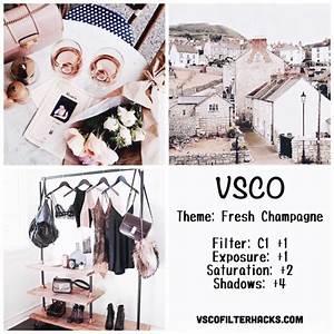Fresh Champagne Instagram Feed Using VSCO Filter C1 ...