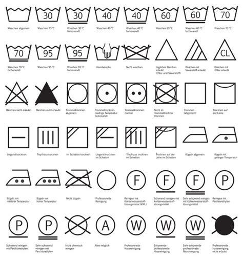Waeschezeichen Und Ihre Bedeutung waschsymbole welches bedeutet genau was