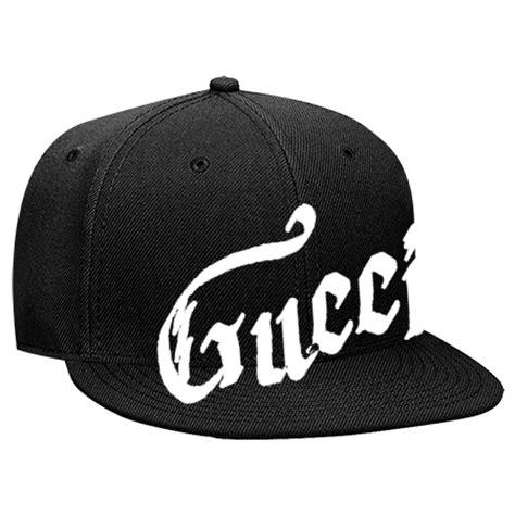 gucci snapback flat bill hat