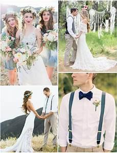 Tenue Mariage Boheme : deco mariage chic et boheme ~ Dallasstarsshop.com Idées de Décoration