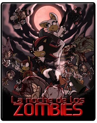 Sonic Creepy Hedgehog Zombies Halloween Attack Anime