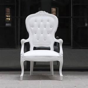 Fauteuil Style Voltaire : fauteuil voltaire blanc pieter jamart fauteuil design ~ Teatrodelosmanantiales.com Idées de Décoration