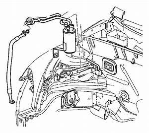 Chrysler Pt Cruiser Switch  A  C Low Pressure Cut Off  Conditioning  Air  Plumbing