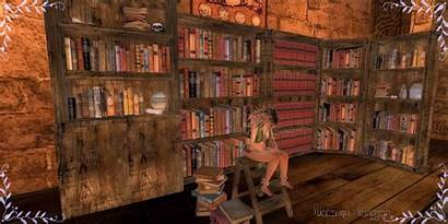 Library Fantasy Background Medieval Fair Ow Wallpapersafari