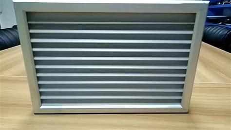 v type aluminum bathroom ventilation grille door vents for