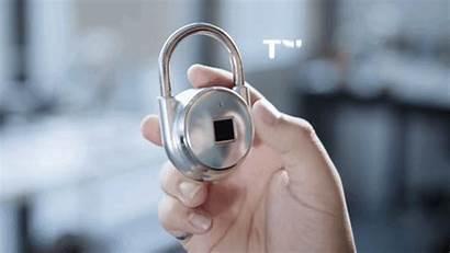 Tapplock Sensor Candado Fingerprint Padlock Smart Cadeado