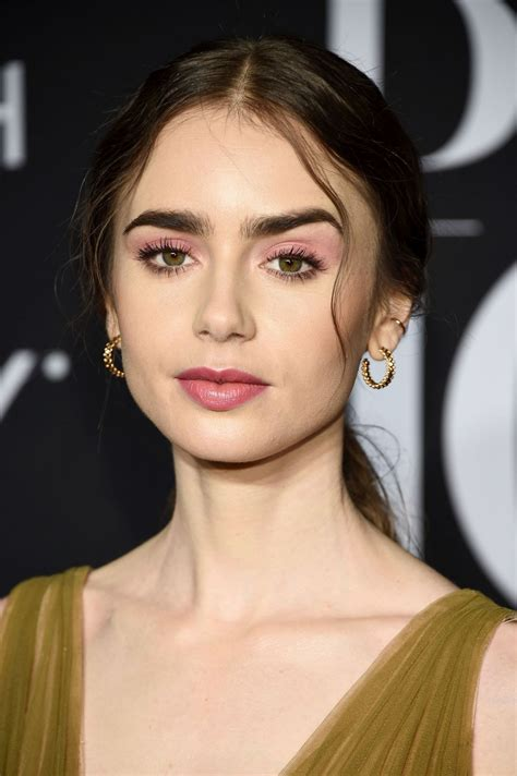 lily collins  harpers bazaar icons party  ny