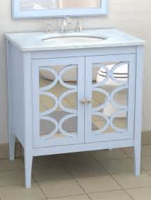 vanity with mirrored doors traditional atlanta by the furniture guild