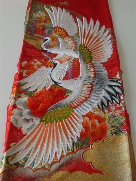 z r kimono embroidery japanese embroidery silk