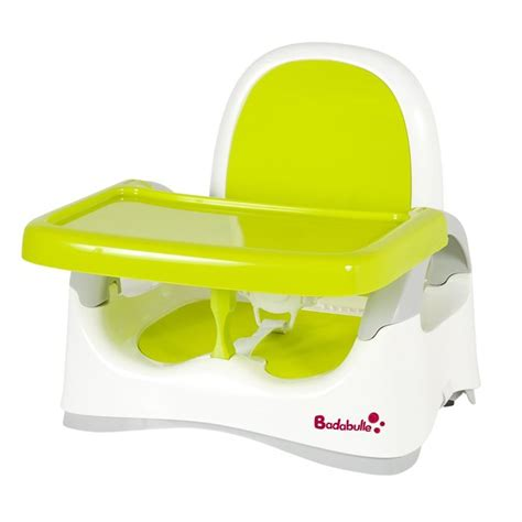 siege bebe de table badabulle r 233 hausseur de table 233 volutif blanc vert achat