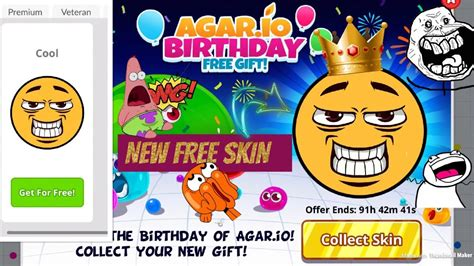 "Agario Mobile New Free Skin The ""cool"" Skin 100% Free No"