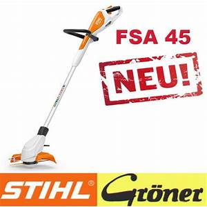 Stihl Freischneider Akku : fsa 45 stihl akku motorsense groenershop ~ Watch28wear.com Haus und Dekorationen