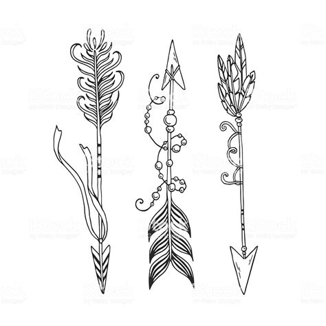 boho arrows stock vector art  images  archery
