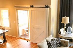 Barn Doors for Patio Slider - The House of Silver Lining