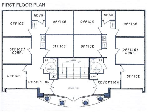 build blueprints decoration ideas office building floorplans for the