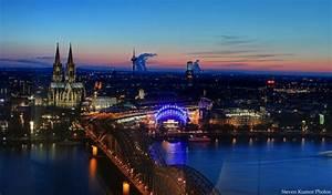 Köln Bilder Kaufen : k ln skyline foto bild architektur architektur bei nacht weltbekannt bilder auf ~ Markanthonyermac.com Haus und Dekorationen