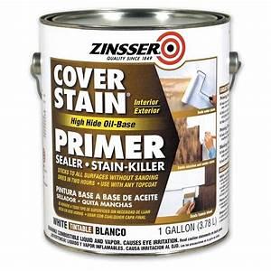 Shop Zinsser Cover Stain Interior/Exterior Oil Primer ...