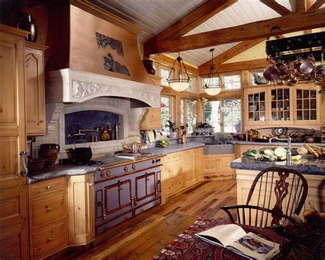 one wall kitchen with island designs handmade country kitchen remodel of wood