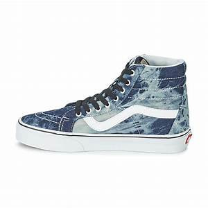 Cheap Vans Sk8-Hi Reissue High Top Shoes (Denim/White ...