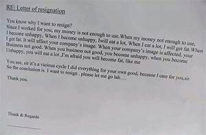 31 Most Funny Resignation Letters and Videos That Will ...