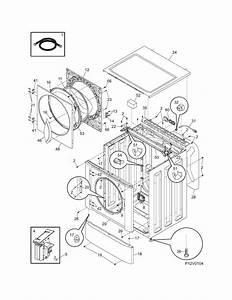 Frigidaire Model Ltf2140fs1 Residential Washers Genuine Parts