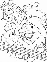 Zoo Coloring Pages Animals Animal Printable Preschoolers Put Lion Colouring Preschool Sheets Easy Lovers Bestcoloringpages Perception Leave Popular Getcoloringpages Drawing sketch template
