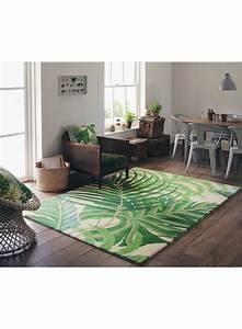 tapis salon manila vert de la collection sanderson With tapis salon vert