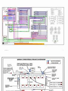 Qsk45 Wiring Diagram  Tier 1  Phase 2 0 With Cense