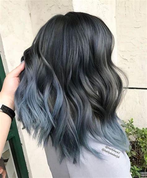 schwarze haare grau färben genial braune haare mit grauen str 228 hnen open project