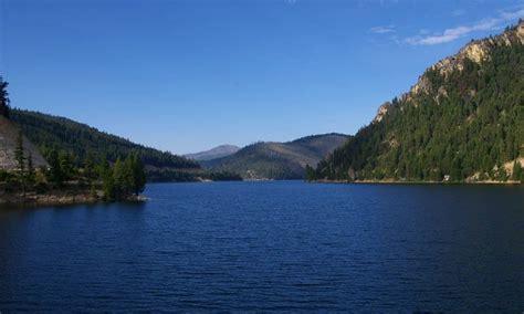 painted rocks lake montana fishing camping boating