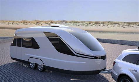 Contemporary Camper Concepts  Caraviso Caravan