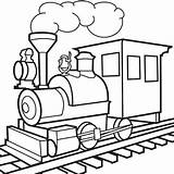 Train Drawing Coloring Pages Transportation Short Clipart Drawings Line Cliparts Clip Transport Pic Express Polar Template sketch template