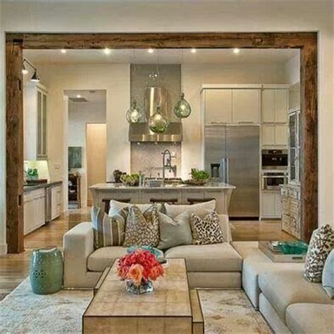 Decorating Ideas For Open Living Room And Kitchen - best 25 kitchen living rooms ideas on pinterest kitchen living kitchen open floor plan and