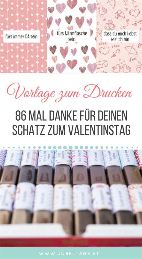 merci druckvorlage zum valentinstag 86 mal danke f 252 r