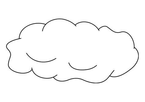 coloriage nuage coloriages gratuits  imprimer