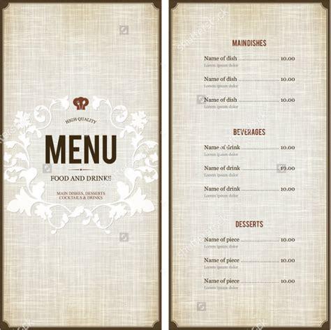 Free Menu Design Templates menu design template 40 free psd eps documents