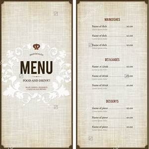 menu design template 40 free psd eps documents With create a menu template free