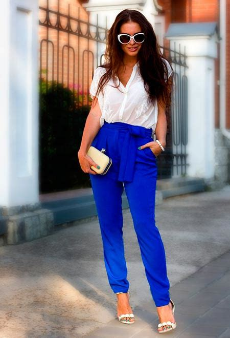 Outfit Ideas With High Waisted Pants | Hairstyles Nail Art Beauty and Fashion