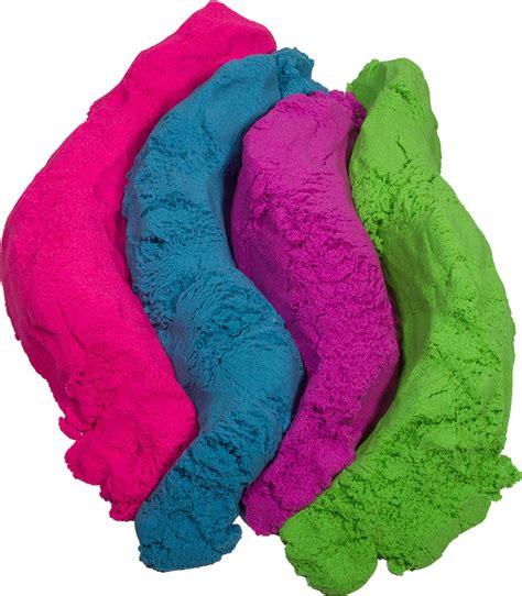 colored kinetic sand color kinetic sand neon 2 lbs