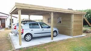 Carport Avec Abri : carport avec abri direct chalets carport en 2019 garaje cochera et estacionamiento ~ Melissatoandfro.com Idées de Décoration