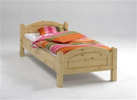 Bett 100x200 Massiv Kiefer Holz ( Ink Lattenrost Und
