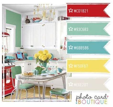 retro kitchen colors retro kitchen color scheme papercraft juxtapost 1932