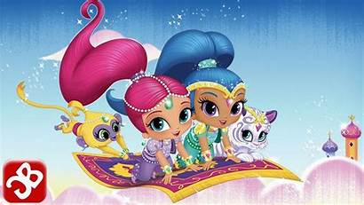 Shimmer Shine Wallpapers Carpet Ride Fire Edition