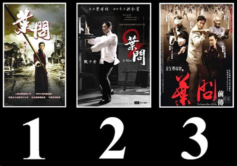 Ip Man 1 2 3 Dvd