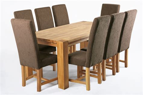 kensington fabric dining chair with oak legs nut